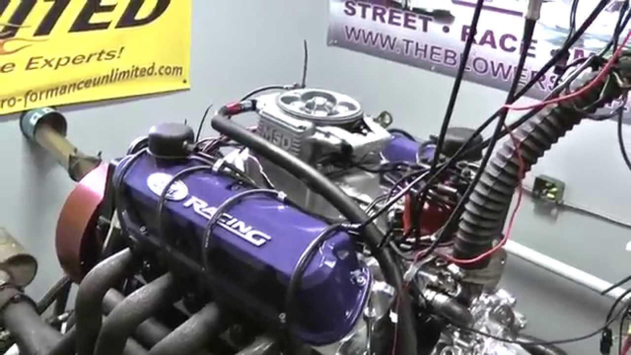 302 SBF Crate Engine MSD Atomic EFI - YouTube