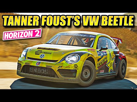Horizon 2 - Tanner Foust's 2014 VW Beetle GRC Review - March DLC Pack