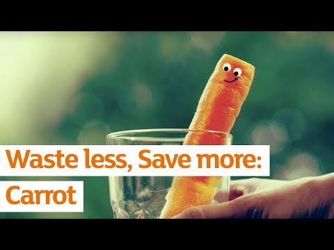 The secret to eternal carrot youth | Waste Less Save More | Sainsbury's
