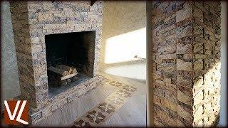 видео Искусственный камень для камина (облицовка каминного портала), «РокПрестиж»