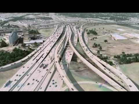 Updated Visualization of I-35W from I-30 to I-820 in Fort Worth