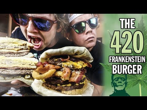 The 420 Frankenstein Burger Challenge