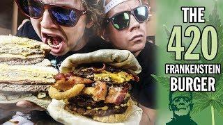 The 420 Frankenstein Burger Challenge