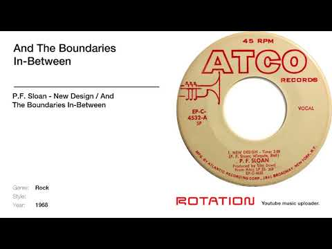 P.F. Sloan - And The Boundaries In-Between [1968 Folk]