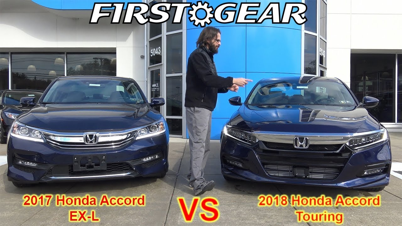 all new 2018 honda accord touring first gear review. Black Bedroom Furniture Sets. Home Design Ideas