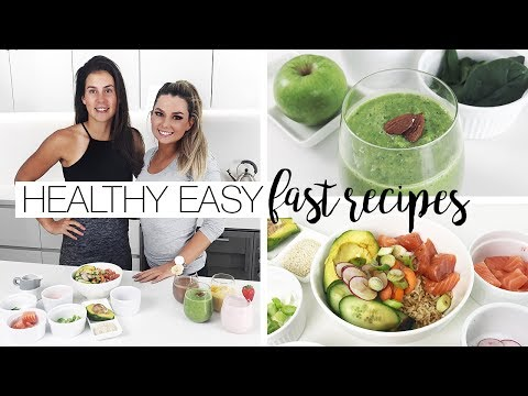 Healthy, Easy & Fast Recipes For Busy People –  w/ Libby Birch