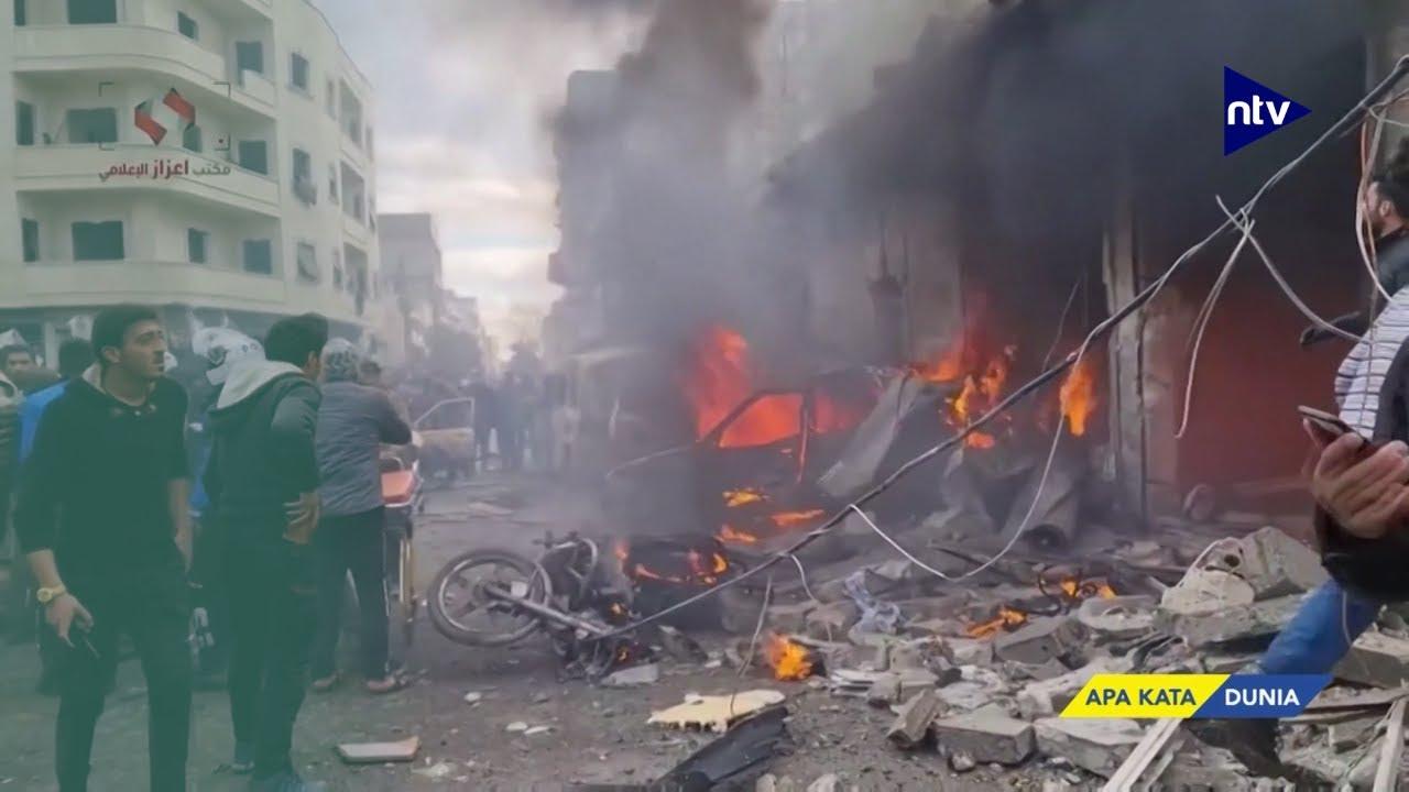 Ledakan Bom Mobil di Suriah, 16 Tewas