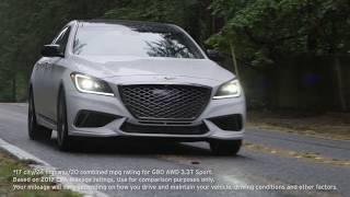2018 Genesis G80 AWD 3.3T Sport Review - AutoNation