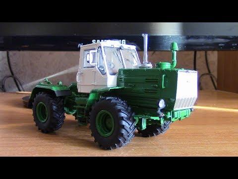 Сборка модели трактора