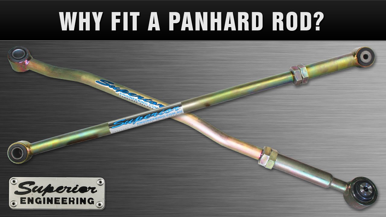 Why Fit A Panhard Rod To A 4WD - YouTube