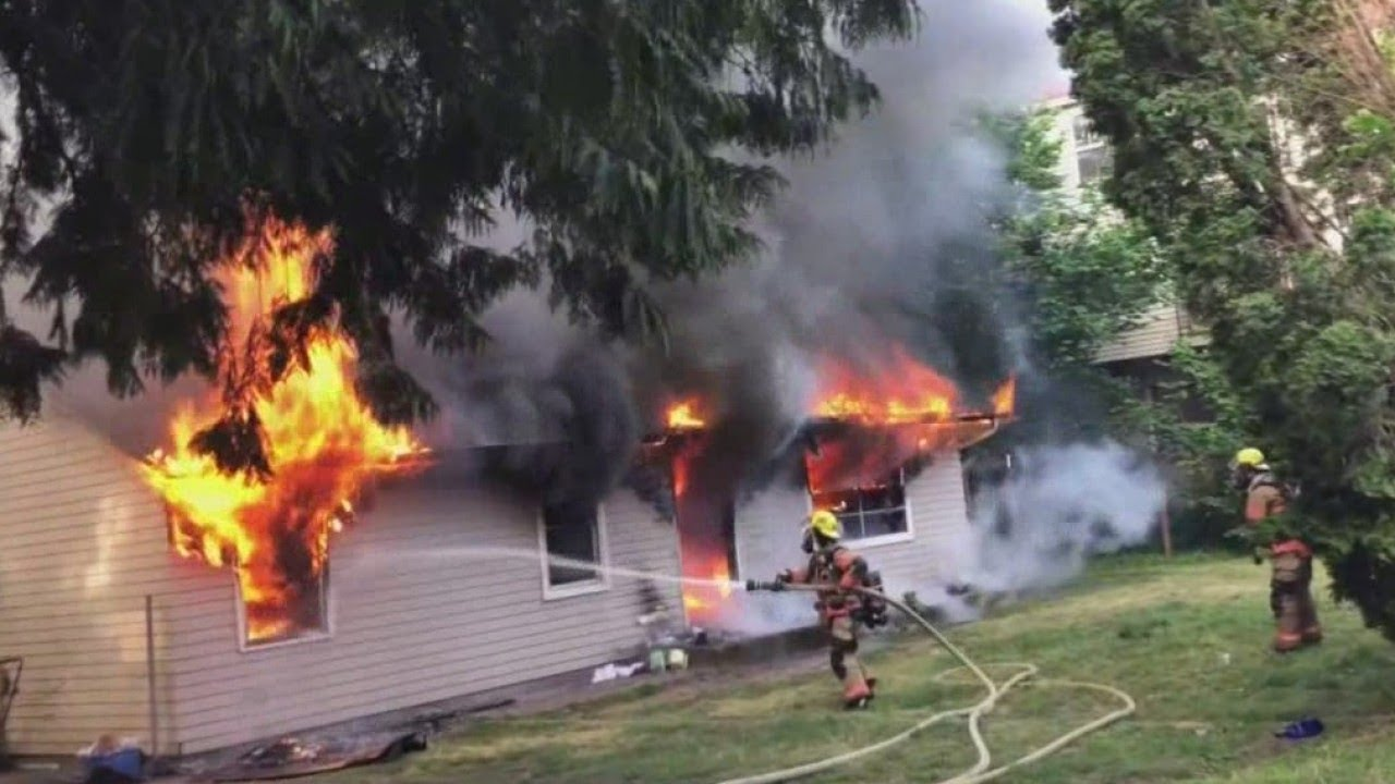 Passerby Helps Save Gresham House From Fire