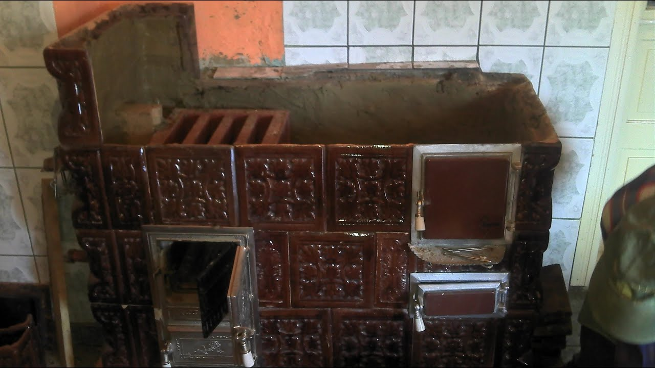 Construirea teracotei cu centrala linga plita 18 kw youtube for Dedeman sobe teracota cu plita