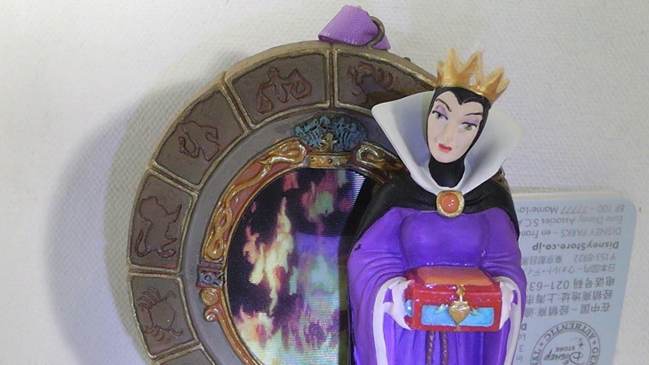 Disney Sketchbook Ornament collection The Evil Queen and ... Disney Evil Queen Ornament