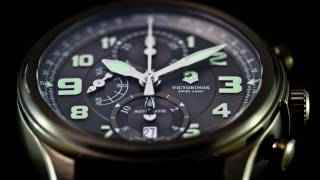 Victorinox Infantry Vintage Mechanical Chronograph Video Watch Review