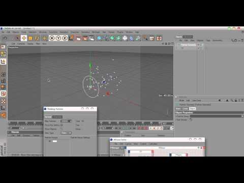 Come Si creano particelle con cinema 4d (ITA)