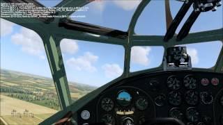 Fiat Br 20 medium bomber Flight and bomb test
