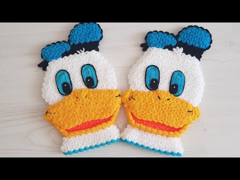 How to knit a Donald Duck Wash