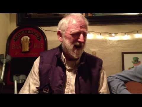 Ted MacCormack sings his very own version of 'Plastic Jesus' in Paddy's Pub in Stuttgart