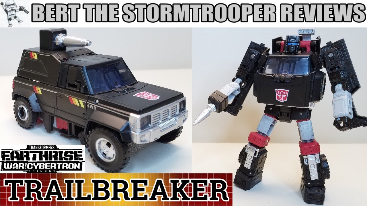 War for Cybertron, Earthrise TRAILBREAKER Review by Bert the Stormtrooper!
