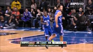 Repeat youtube video Kevin Hart - NBA Celebrity All-Star Game 2012 MVP HD