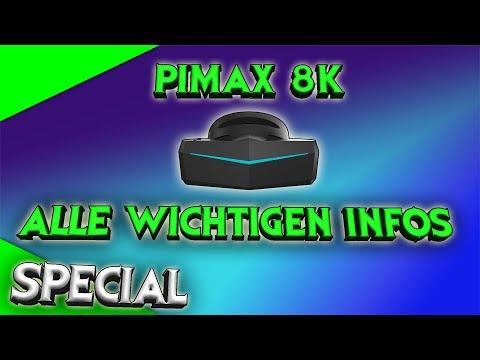 Pimax 8K VR Headset - Alle wichtigen Infos zusammengefasst! [German][Virtual Reality][8K VR]