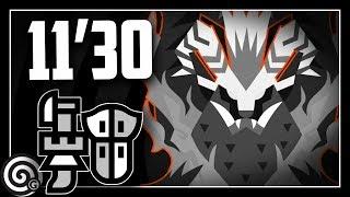 Arch Tempered Teostra LOVES Wyvernstake - Gunlance Speedrun 11'30 | Monster Hunter World