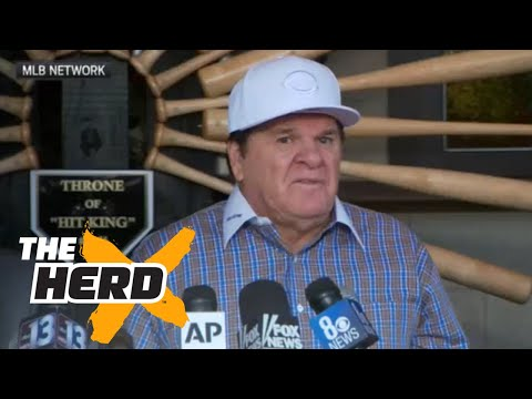 Pete Rose compares his gambling to MLB's embrace of fantasy sports   THE HERD