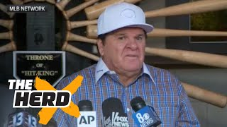 Pete Rose compares his gambling to MLB's embrace of fantasy sports | THE HERD