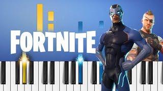 Fortnite - Menu Theme - EASY Piano Tutorial