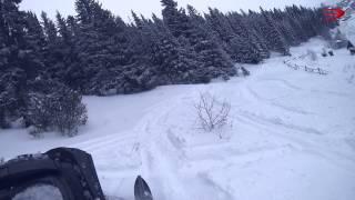 Открытие снегоходного сезона 07.01.2014