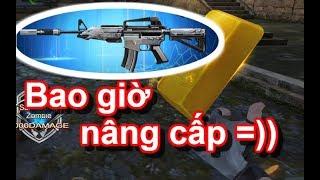 """M4A1 VIP kết hợp Thỏi vàng 9999 vs Zombie """" Truy Kích VN """""""