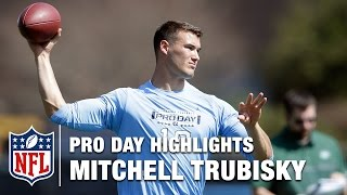 Mitchell Trubisky Pro Day Highlights | NFL