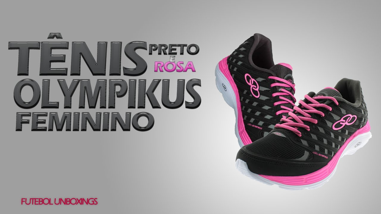 9c117b9b76 Unboxings Tênis Olympikus Flix Feminino - Netshoes  3 - Brazil Unboxings -  YouTube