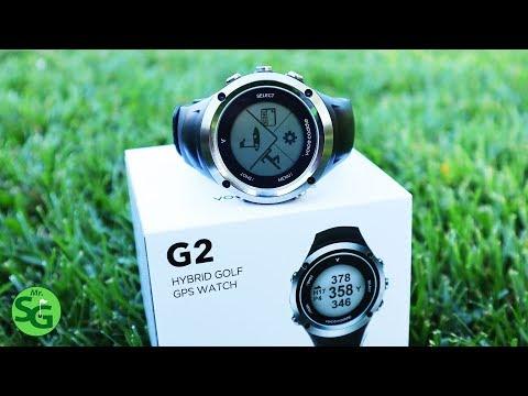 The Voice Caddie G2 Hybrid Golf GPS Watch Review!