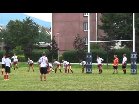 Rugby league U 18 Czech Republic v Latvia Game 1
