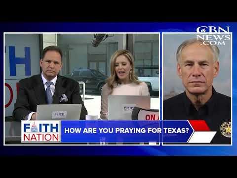 Faith Nation: 7 – Texas Governor Greg Abbott and Texas Senator Ted Cruz