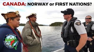 CANADA: Whose side are you on? Norway or First Nations?