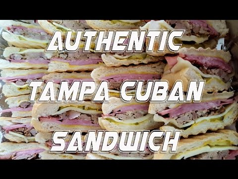Authentic Tampa Cuban Sandwich Recipe
