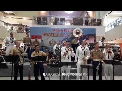 Payung Teduh - AKAD (cover) U.S NAVY ft U.S. MARINE CORPS