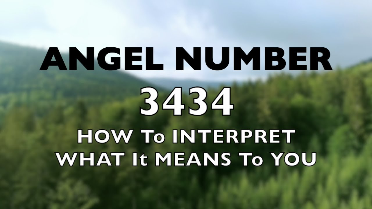 Download Angel Number 3434 - How to Interpret What it Means to You