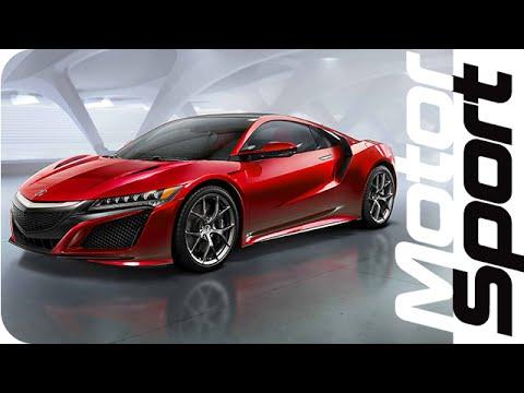 NEW Acura NSX Hybrid Revealed