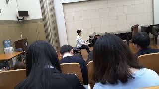 선화예고 피아노 흔한 전공수업시간 (피아노: 김예찬)