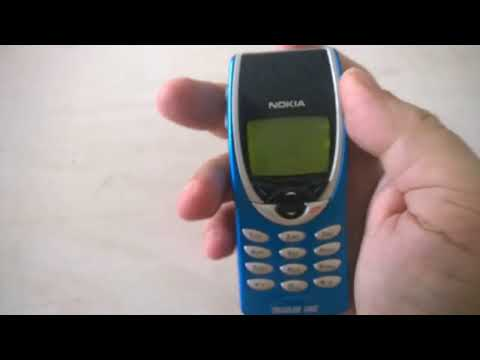 VINTAGE CELL PHONE NOKIA 8210 EMATUBE COLLECTION - 18/08/2014