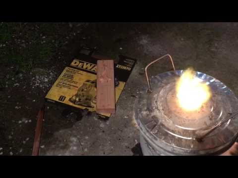 DIY Iron Casting #0 - proof of concept