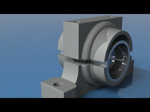 The Foundry MODO - Modeling a Bearing Block