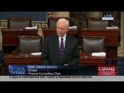 Hatch Previews CLOUD Act