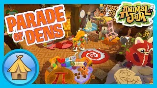 Autumn Dens in Animal Jam and Play Wild! | Animal Jam - Parade of Dens