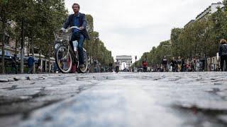 Journée sans voiture à Paris :