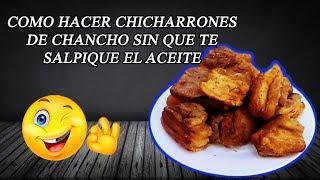 Download COMO HACER CHICHARRONES DE CERDO PERUANOS | CHICHARRONES DE CHANCHO Mp3 and Videos