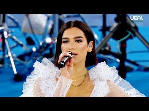 "2018 UEFA Champions League Final Opening Ceremony , DUA LIPA Live"" :"